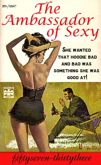 Ambassador of Sexy contest poster
